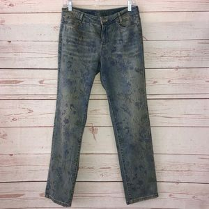 J Jill Size 6P Straight Fit/ Slim Boyfriend Jeans